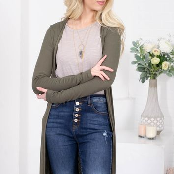 Basic Everyday Light Cardigan | Colors