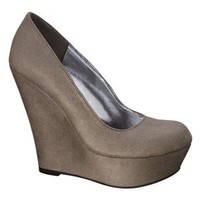 Women's Mossimo® Payton Wedge - Taupe