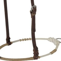 Teskey's Saddle Shop: Teskey's Rawhide Braided Noseband -Teskey's