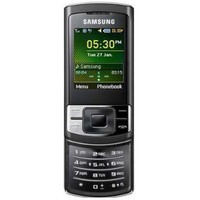 Samsung SA-C3050 Unlocked Phone with 15MB built-in memory, MP3 player, Bluetooth, FM radio - International Version (Black)