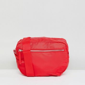 Monki Zip Front Body Bag at asos.com