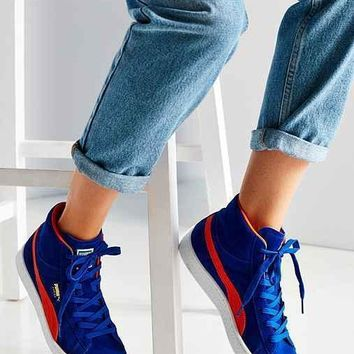 puma suede classic mid jr sneaker  number 1