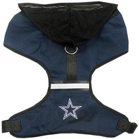 Dallas Cowboys Pet Harness LG