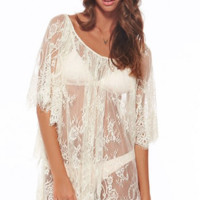 L*Space Geneva Lace Cover Up