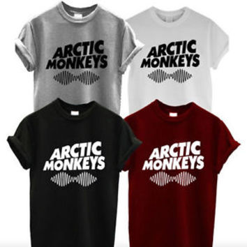 Arctic Monkeys Shirt Indie Band Music T-Shirt Unisex T-shirt tee size S-2XL #1