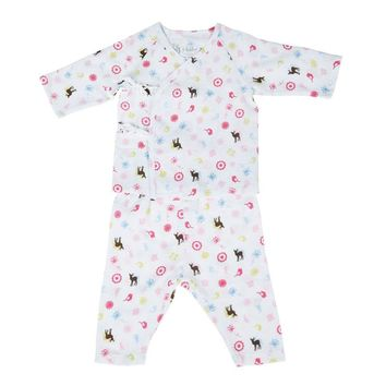 i-baby Baby Romper Newborn Clothes Outlast Safari Rompers 100% Cotton Gauze Muslin Long Sleeve Romper Jumpsuits Baby's Sets