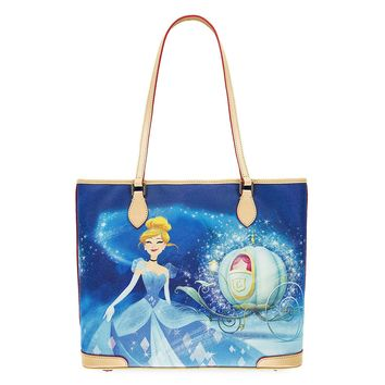 Disney Dooney & Bourke Princess Cinderella Tote Bag New with Tags