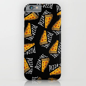 Pizza is Life iPhone & iPod Case by Angoes25