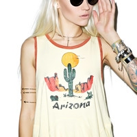 Somedays Lovin Arizona Print Tank Lemon