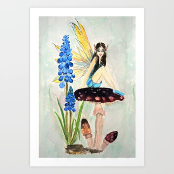 My childhood fantasy. colored Art Print by Color And Color