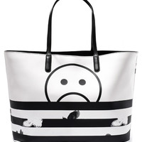 Marc by Marc Jacobs Metropoli Unsmiley Stripe Tote Bag | Accessories | Liberty.co.uk