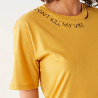 Project Social T Neck Script Tee | Urban Outfitters