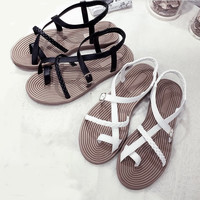 CABANA LADY Textured Sole Sandals