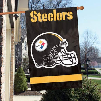 NFL Team APPLIQUÉ BANNER FLAG