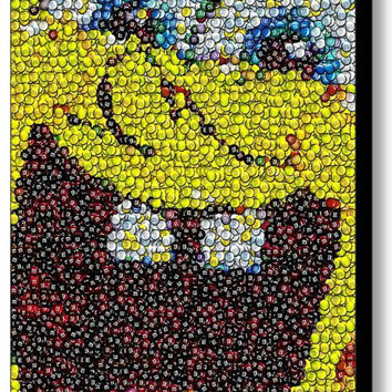 Spongebob Squarepants MMs M&Ms Mosaic ART PRINT INCREDIBLE