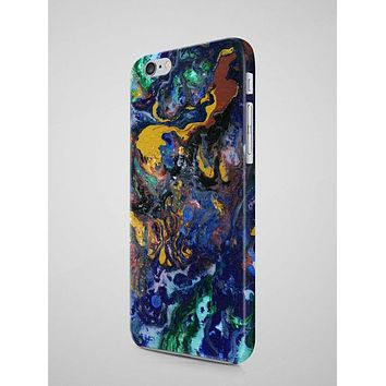Abstract Art Oil Painting iPhone 8 Plus Case