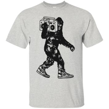 Bigfoot Ghetto Blaster T Shirt