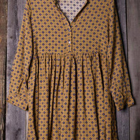 Cupshe Long Time Gone Shirt Dress