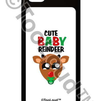 Cute Baby Reindeer Matching Deer iPhone 5 / 5S Grip Case