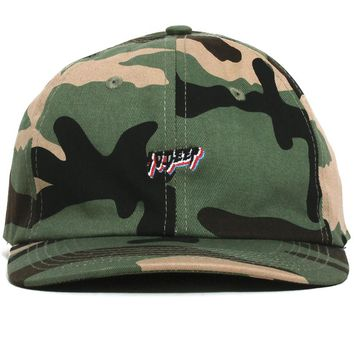 All The Lights Dad Hat New Woodland Camo