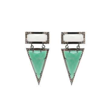 Diamond Wooster Earrings