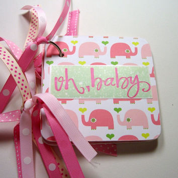 Baby Girl Giftcard Holder, Giftcard Holder, Mini Giftcard Holder, Baby Girl, New Baby Girl, Giftcard Book