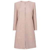 Buy L.K. Bennett Amola Event Coat, Dusty Pink | John Lewis