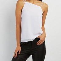 STRAPPY ASYMMETRICAL TANK TOP