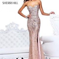 Sherri Hill Dress 8513 at Peaches Boutique