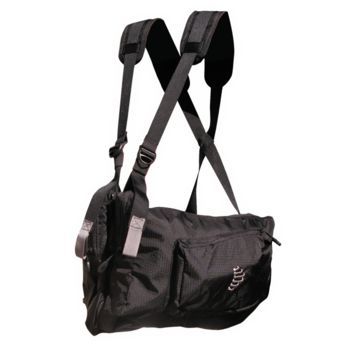 RIBZ Front Pack , Stealth Black