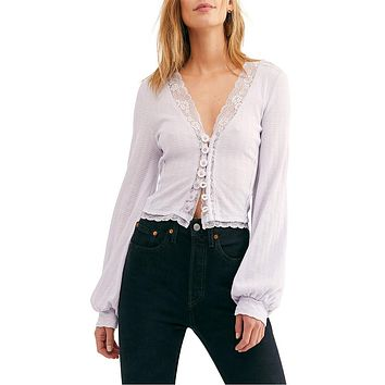 Free People - Run With Me Cardi - More Colors