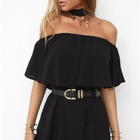 Raven Dress - Black - SABO SKIRT
