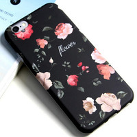 Original Retro Floral iPhone 5se 5s 6 6s Plus Case Cover Gift 315