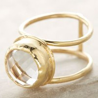 Melissa de la Fuente Topaz Strength Ring in Gold Size: One Size Rings