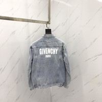 cc hcxx SS18 Givenchy Jeans Jacket