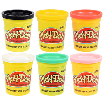 Bulk Play-Doh Modeling Compound, 4-oz. Canisters at DollarTree.com
