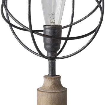 Bolton Globe Industrial Table Lamp