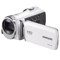 "Samsung F90 White Camcorder with 2.7"" LCD Screen and HD Video Recording"