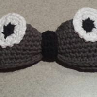 My Neighbor Totoro Crochet Hair Bow w/Clip