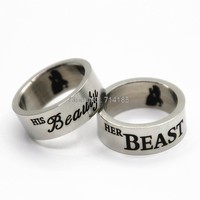 His Beauty Her Beast Couple Rings