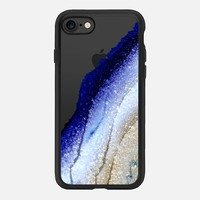 FLAWLESS ROYAL BLUE & FAUX GOLD by Monika Strigel iPhone 7 Hülle by Monika Strigel | Casetify