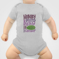 Nobody Puts Baby in a Corner Baby Clothes by Aleroundyou