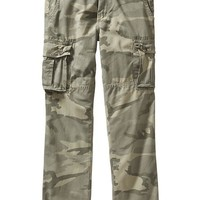 Old Navy Mens Belted Straight Leg Cargos