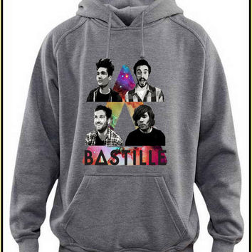 bastille custom crewneck hoodie for unisex