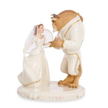Disney® by Lenox® Belle's Wedding Dreams Cake Topper
