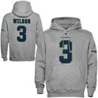 Russell Wilson Seattle Seahawks Eligible Receiver Hoodie - Ash