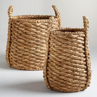 Oversized Natural Carrie Tub Basket Collection - World Market