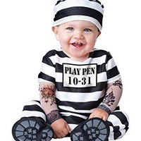 Baby's Time Out Convict Costume