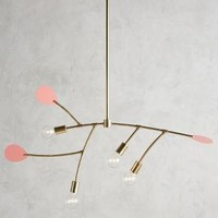 Lacquered Mobilesque Chandelier by Anthropologie