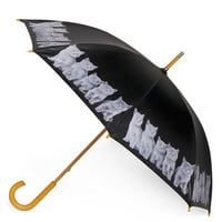 When It Rains, It Paws Umbrella | Mod Retro Vintage Umbrellas | ModCloth.com